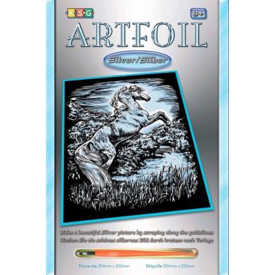 Купить НАБОР ДЛЯ ТВОРЧЕСТВА ARTFOIL SILVER STALLION, SEQUIN ART (SA1033)