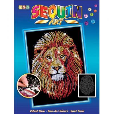 Купить НАБОР ДЛЯ ТВОРЧЕСТВА BLUE LION, SEQUIN ART (SA1207)