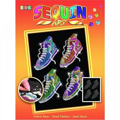 Купить НАБОР ДЛЯ ТВОРЧЕСТВА ORANGE STREET FEET, SEQUIN ART (SA1514)