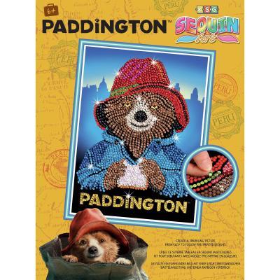 Купить НАБОР ДЛЯ ТВОРЧЕСТВА PADDINGTON MOVIE PADDINGTON FACE, SEQUIN ART (SA1508)