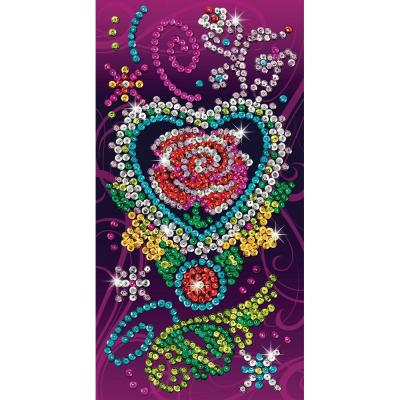 Купить НАБОР ДЛЯ ТВОРЧЕСТВА CRAFT TEEN ROSE, SEQUIN ART (SA1419)