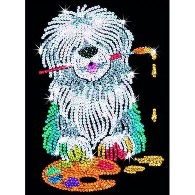 Купить НАБОР ДЛЯ ТВОРЧЕСТВА PABLO SHEEP DOG, SEQUIN ART (SA1415)