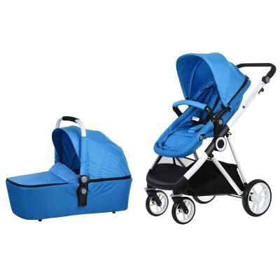 Купить УНИВЕРСАЛЬНАЯ КОЛЯСКА 2 В 1 MI BABY T900 NAVY BLUE, MIQILONG (T900-U2BL01)