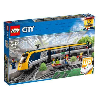 Купить ПАССАЖИРСКИЙ ПОЕЗД, LEGO (60197)