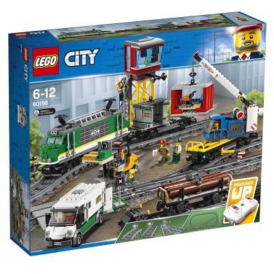 Купить ГРУЗОВОЙ ПОЕЗД  12, LEGO (60198)