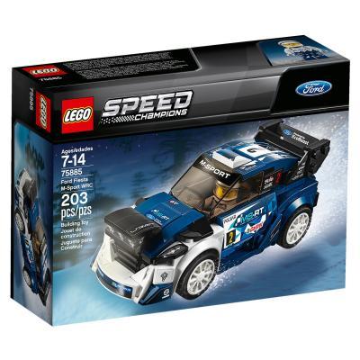 Купить FORD FIESTA M-SPORT WRC, LEGO (75885)