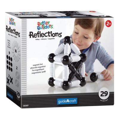 Купить КОНСТРУКТОР BETTER BUILDERS REFLECTIONS, 29 ДЕТ., GUIDECRAFT (G8307)