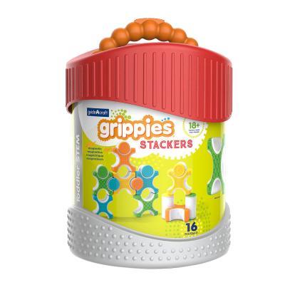 Купить КОНСТРУКТОР GRIPPIES STACKERS, 16 ДЕТ., GUIDECRAFT (G8313)