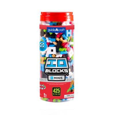 Купить КОНСТРУКТОР IO BLOCKS MINIS, 425 ДЕТ., GUIDECRAFT (G9612)