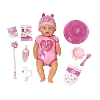 Купить ИНТЕРАКТИВНАЯ КУКЛА BABY BORN ОЧАРОВАТЕЛЬНАЯ МАЛЫШКА, АКСЕСС., BABY BORN (824368)