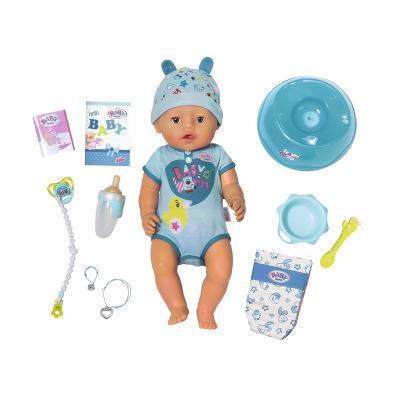 Купить ИНТЕРАКТИВНАЯ КУКЛА BABY BORN ОЧАРОВАТЕЛЬНЫЙ МАЛЫШ, АКСЕСС., BABY BORN (824375)