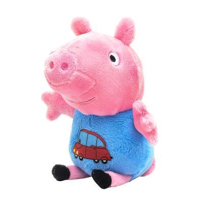 Купить МЯГКАЯ ИГРУШКА ДЖОРДЖ С ВЫШИТОЙ МАШИНКОЙ, PEPPA PIG (29620)