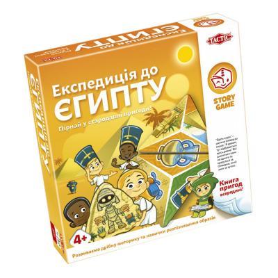 Купить НАСТОЛЬНАЯ ИГРА ЭКСПЕДИЦИЯ В ЕГИПЕТ, TACTIC (55685)
