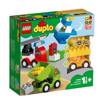 Купить LEGO МОИ ПЕРВЫЕ МАШИНКИ, LEGO (10886)