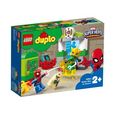 Купить LEGO ЧЕЛОВЕК-ПАУК ПРОТИВ ЭЛЕКТРО, LEGO (10893)