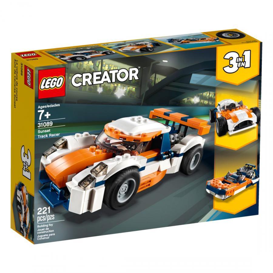 Купить LEGO ОРАНЖЕВЫЙ ГОНОЧНЫЙ АВТОМОБИЛЬ, LEGO (31089)