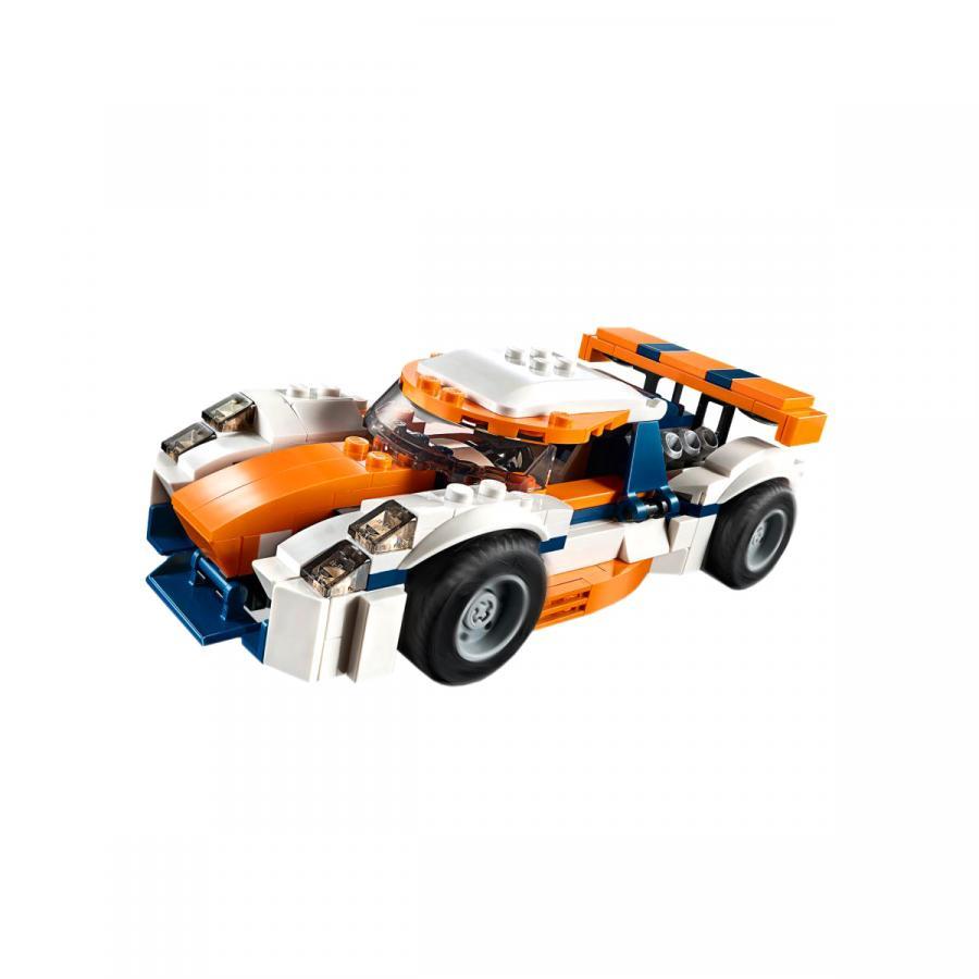 Купить LEGO ОРАНЖЕВЫЙ ГОНОЧНЫЙ АВТОМОБИЛЬ, LEGO (31089)_3