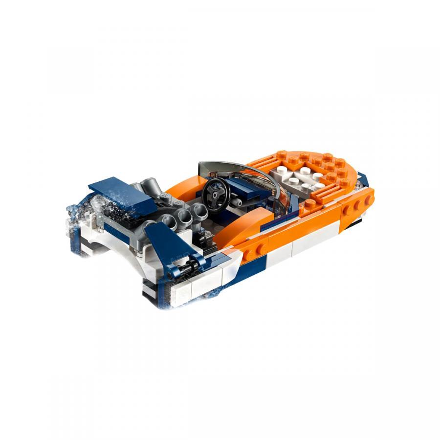 Купить LEGO ОРАНЖЕВЫЙ ГОНОЧНЫЙ АВТОМОБИЛЬ, LEGO (31089)_2