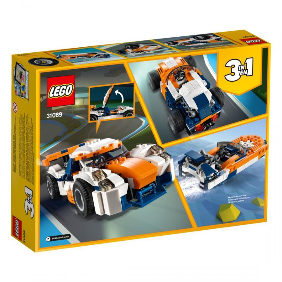 Купить LEGO ОРАНЖЕВЫЙ ГОНОЧНЫЙ АВТОМОБИЛЬ, LEGO (31089)_1