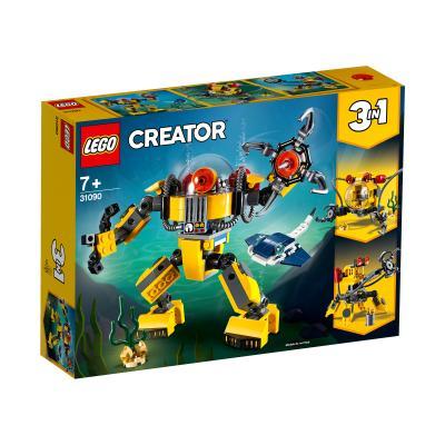Купить LEGO РОБОТ ДЛЯ ПОДВОДНЫХ ИССЛЕДОВАНИЙ, LEGO (31090)