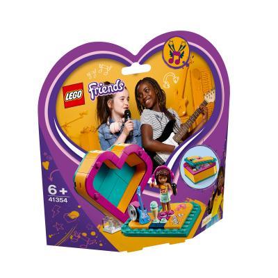 Купить LEGO ШКАТУЛКА-СЕРДЕЧКО АНДРЕА, LEGO (41354)