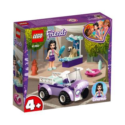 Купить LEGO ПЕРЕДВИЖНАЯ ВЕТКЛИНИКА ЭММЫ, LEGO (41360)
