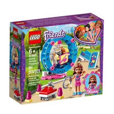 Купить LEGO ИГРОВАЯ ПЛОЩАДКА ДЛЯ ХОМЯЧКА ОЛИВИИ, LEGO (41383)