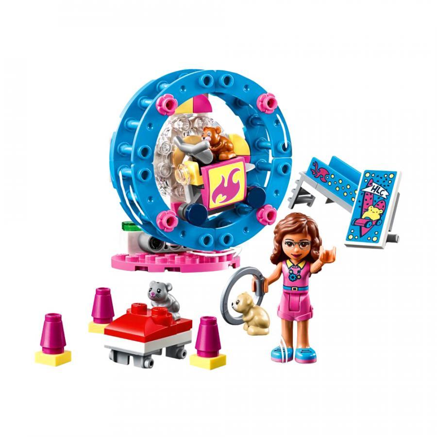 Купить LEGO ИГРОВАЯ ПЛОЩАДКА ДЛЯ ХОМЯЧКА ОЛИВИИ, LEGO (41383)_1