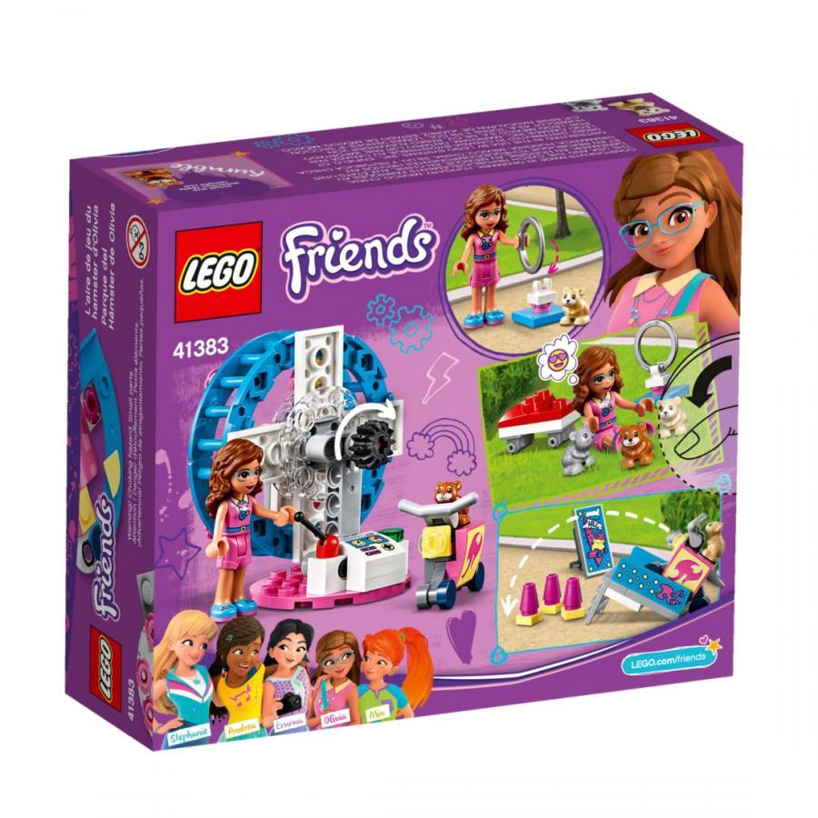 Купить LEGO ИГРОВАЯ ПЛОЩАДКА ДЛЯ ХОМЯЧКА ОЛИВИИ, LEGO (41383)_2