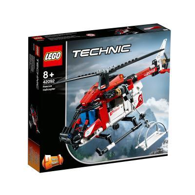 Купить LEGO СПАСАТЕЛЬНЫЙ ВЕРТОЛЁТ, LEGO (42092)