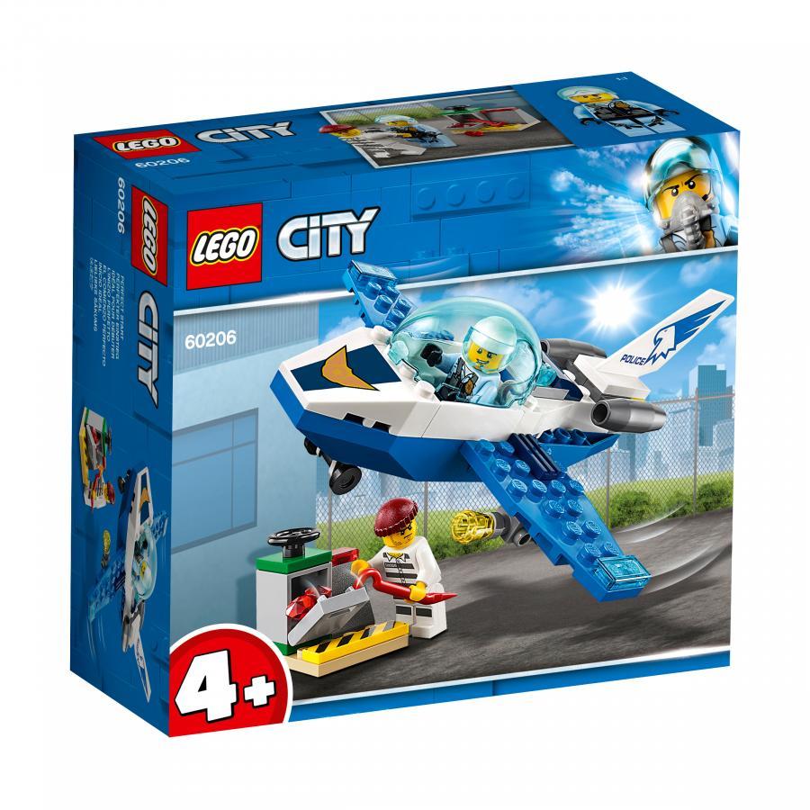 Купить LEGO ВОЗДУШНАЯ ПОЛИЦИЯ: ПАТРУЛЬНЫЙ САМОЛЁТ, LEGO (60206)