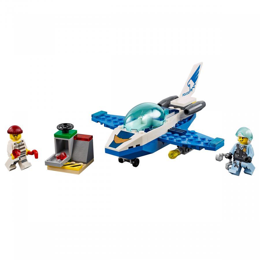 Купить LEGO ВОЗДУШНАЯ ПОЛИЦИЯ: ПАТРУЛЬНЫЙ САМОЛЁТ, LEGO (60206)_1