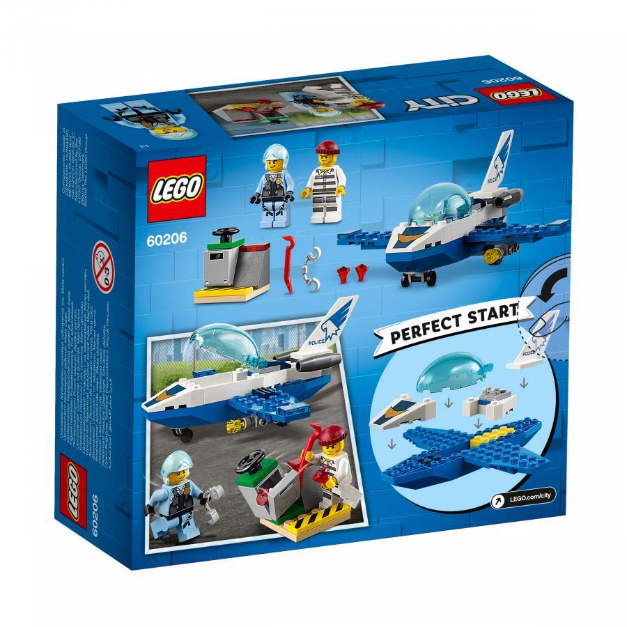Купить LEGO ВОЗДУШНАЯ ПОЛИЦИЯ: ПАТРУЛЬНЫЙ САМОЛЁТ, LEGO (60206)_3