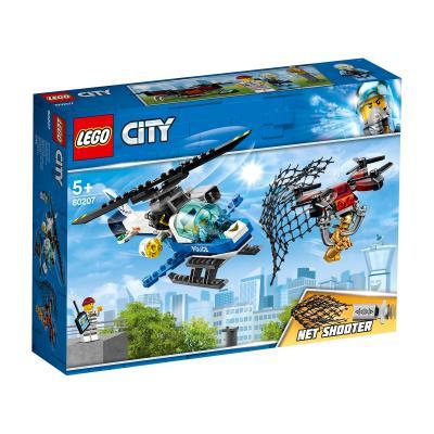 Купить LEGO ВОЗДУШНАЯ ПОЛИЦИЯ: ПОГОНЯ ДРОНОВ, LEGO (60207)