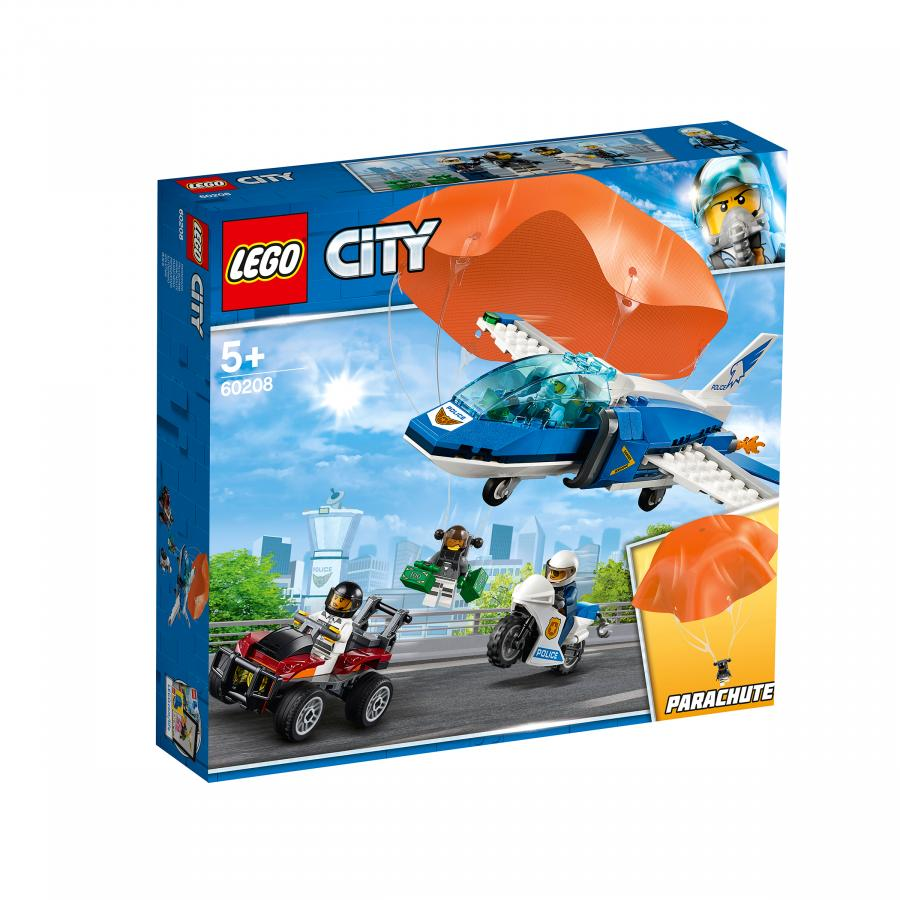 Купить LEGO ВОЗДУШНАЯ ПОЛИЦИЯ: АРЕСТ ПАРАШЮТИСТА, LEGO (60208)
