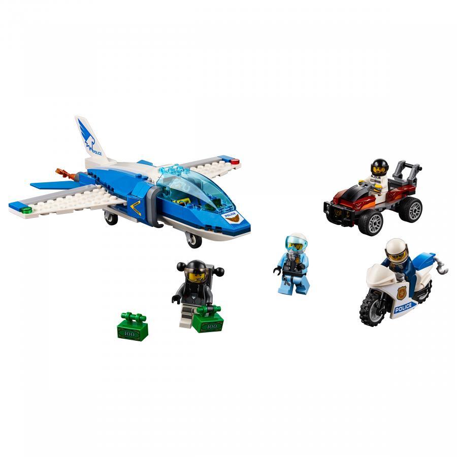 Купить LEGO ВОЗДУШНАЯ ПОЛИЦИЯ: АРЕСТ ПАРАШЮТИСТА, LEGO (60208)_1