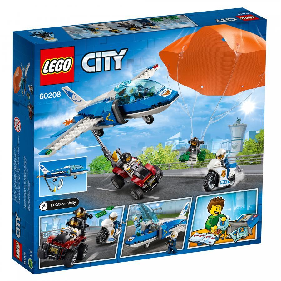 Купить LEGO ВОЗДУШНАЯ ПОЛИЦИЯ: АРЕСТ ПАРАШЮТИСТА, LEGO (60208)_3