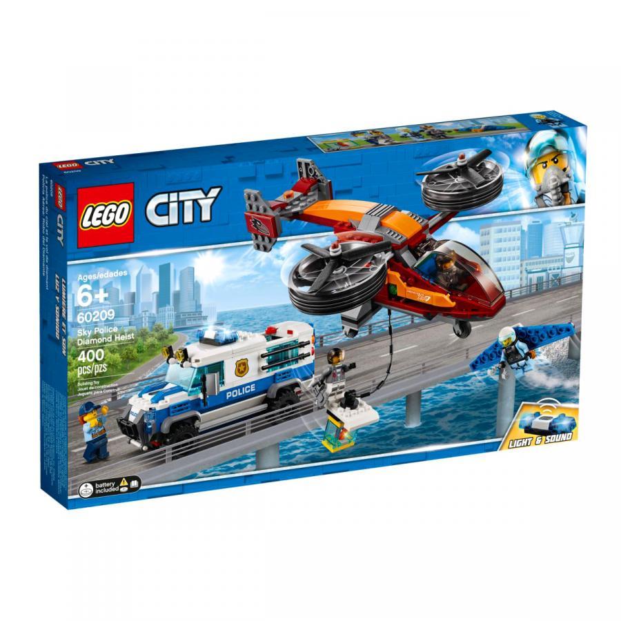 Купить LEGO ВОЗДУШНАЯ ПОЛИЦИЯ: КРАЖА БРИЛЛИАНТОВ, LEGO (60209)