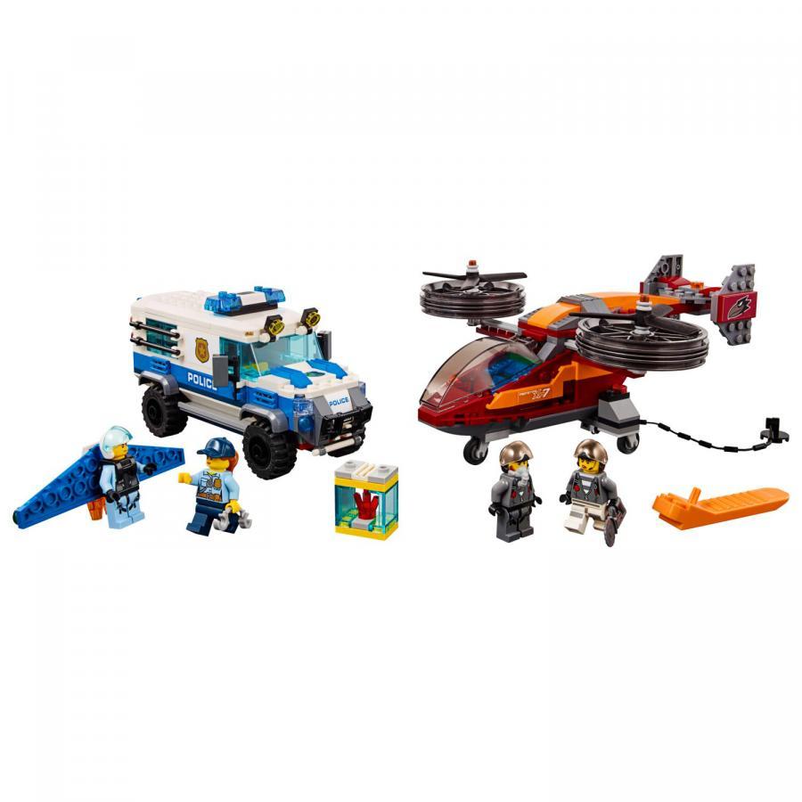 Купить LEGO ВОЗДУШНАЯ ПОЛИЦИЯ: КРАЖА БРИЛЛИАНТОВ, LEGO (60209)_1