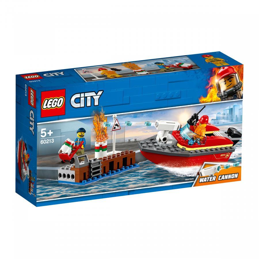 Купить LEGO ПОЖАР В ПОРТУ, LEGO (60213)