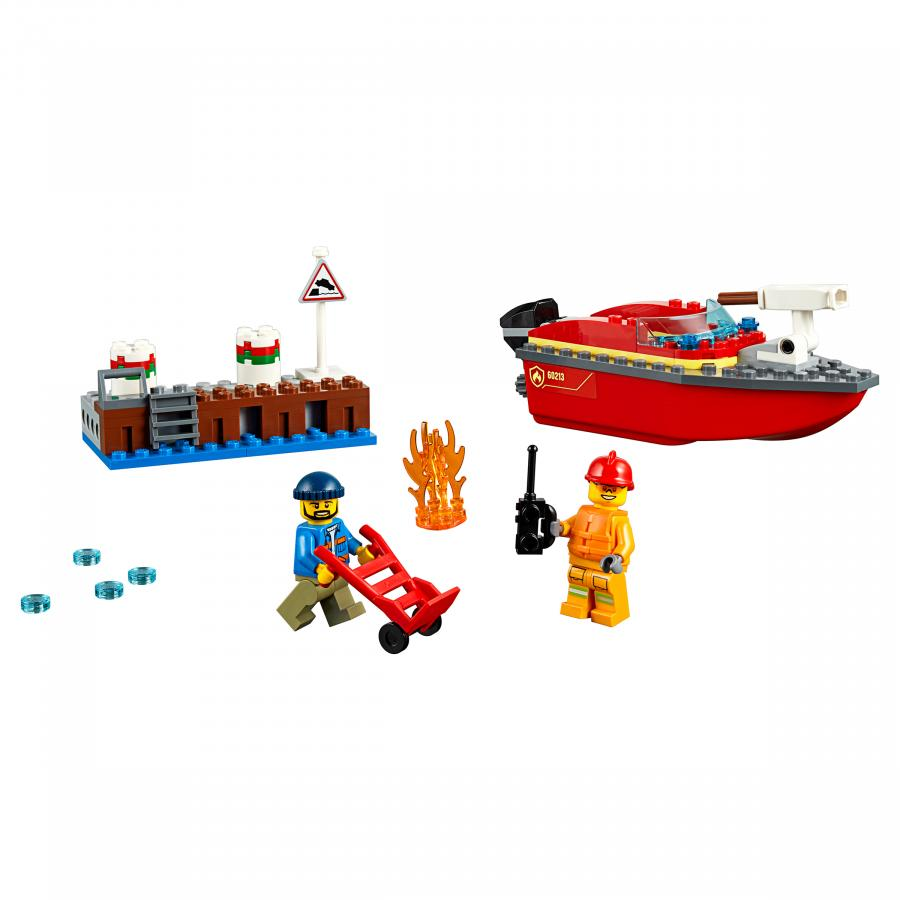 Купить LEGO ПОЖАР В ПОРТУ, LEGO (60213)_3