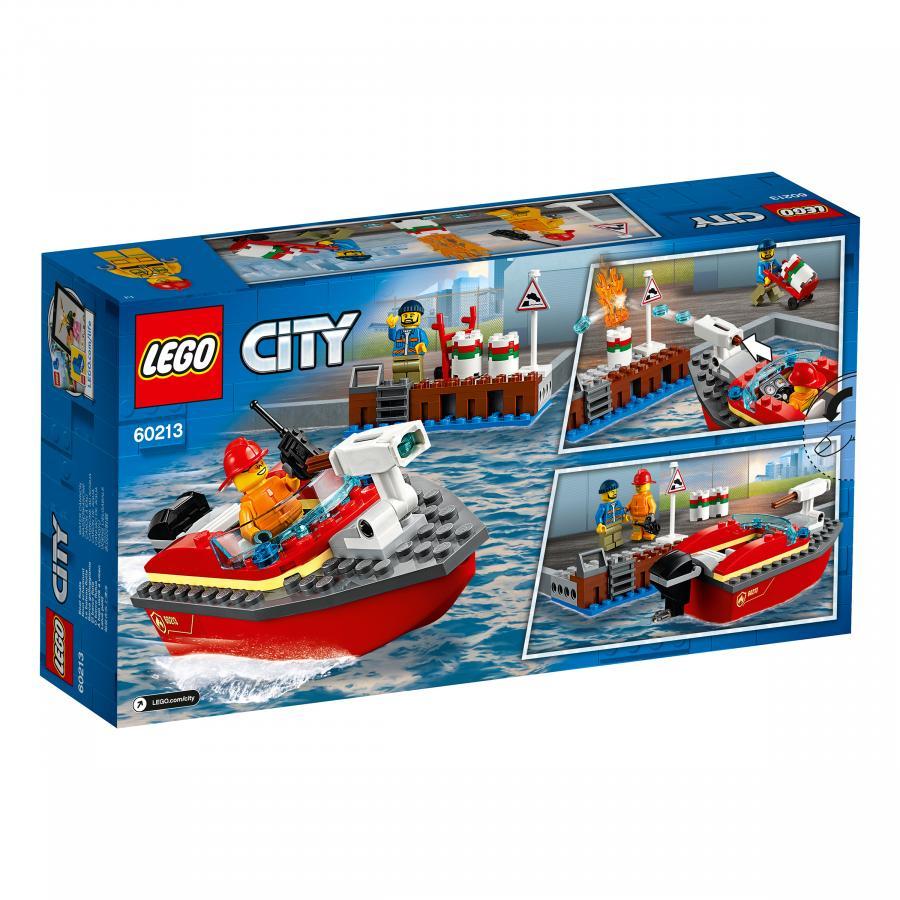 Купить LEGO ПОЖАР В ПОРТУ, LEGO (60213)_2