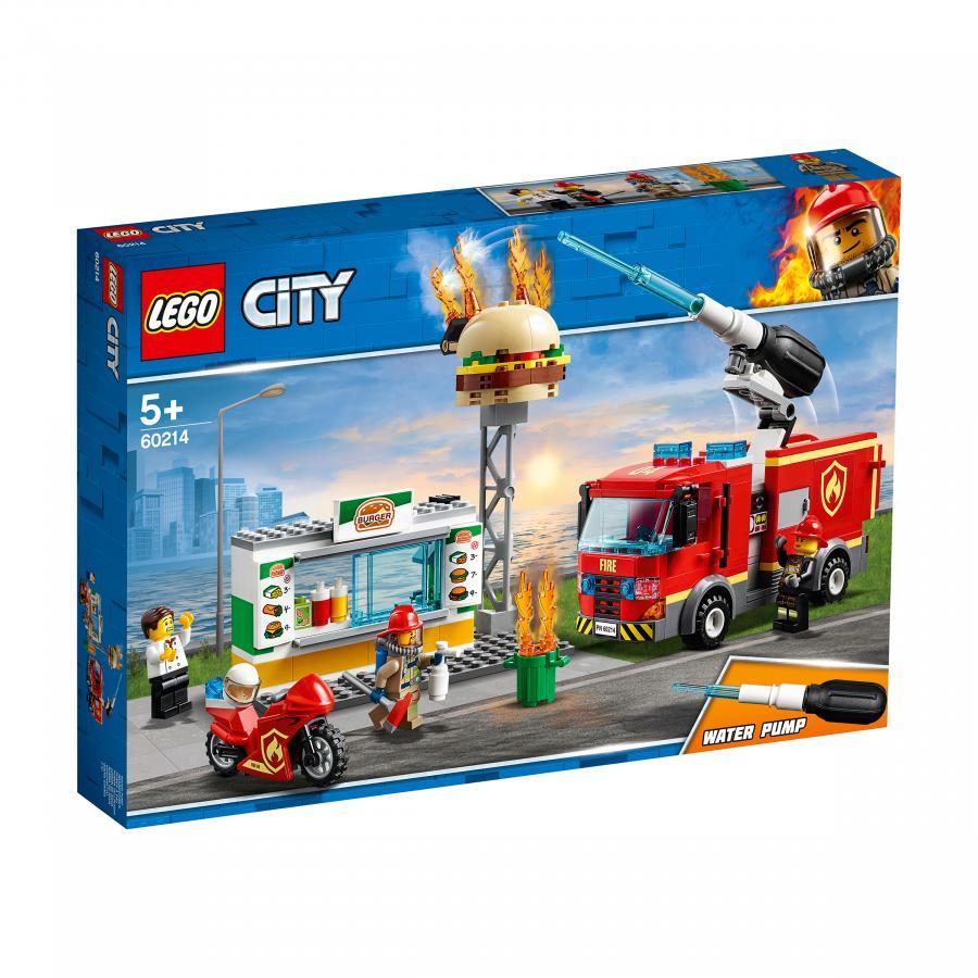 Купить LEGO ПОЖАР В БУРГЕР-КАФЕ, LEGO (60214)