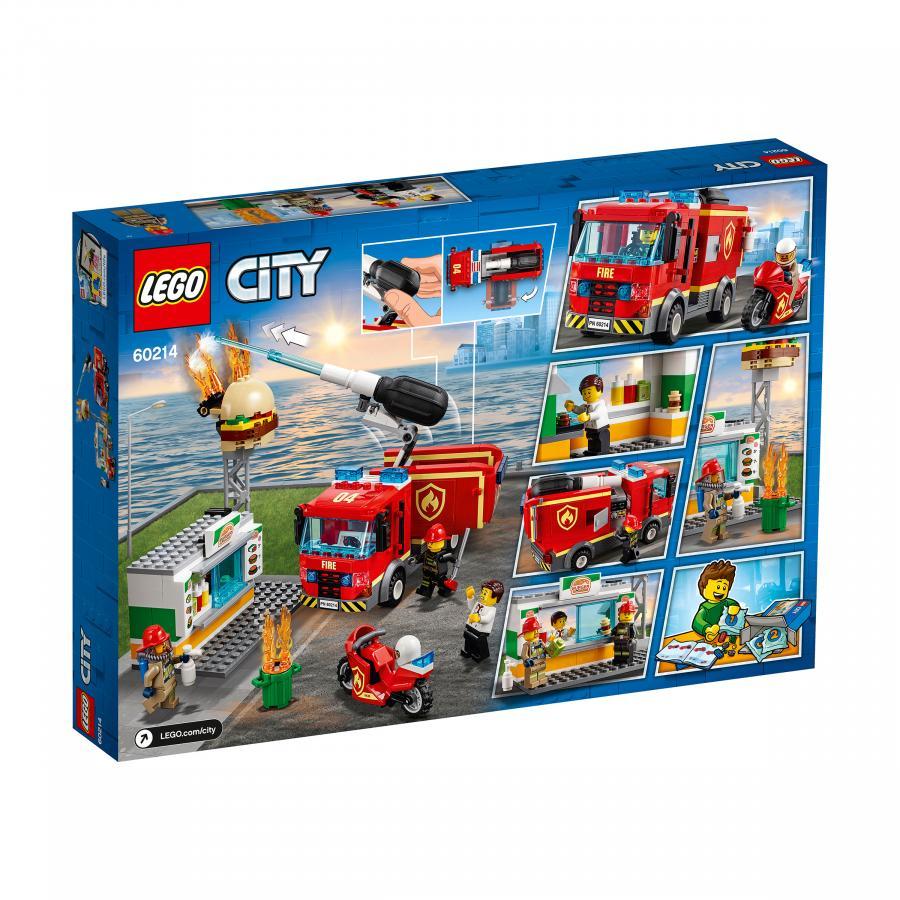 Купить LEGO ПОЖАР В БУРГЕР-КАФЕ, LEGO (60214)_3
