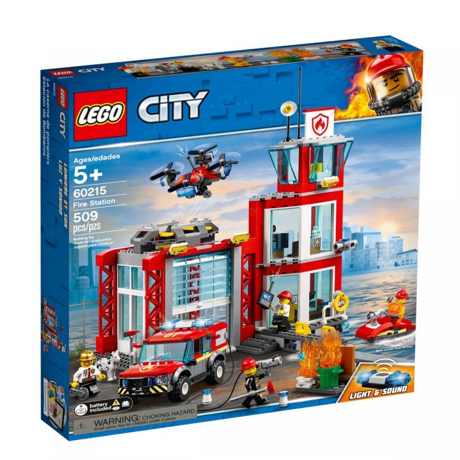 Купить LEGO ПОЖАРНОЕ ДЕПО11, LEGO (60215)