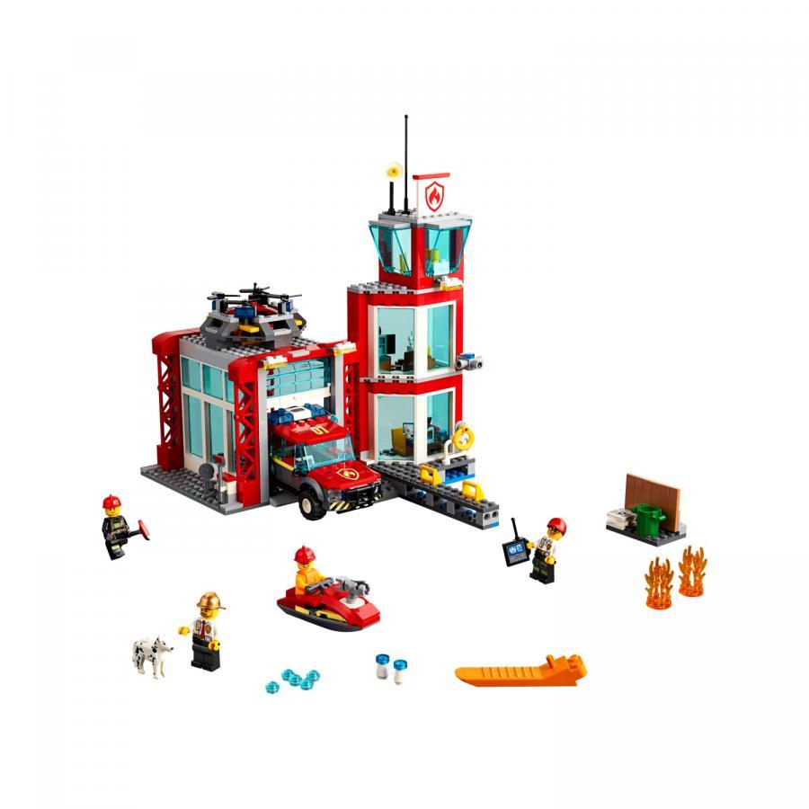 Купить LEGO ПОЖАРНОЕ ДЕПО11, LEGO (60215)_3