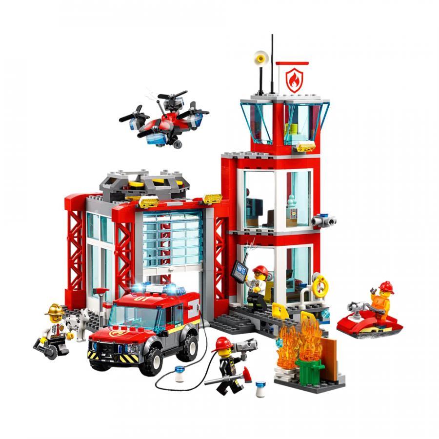 Купить LEGO ПОЖАРНОЕ ДЕПО11, LEGO (60215)_1
