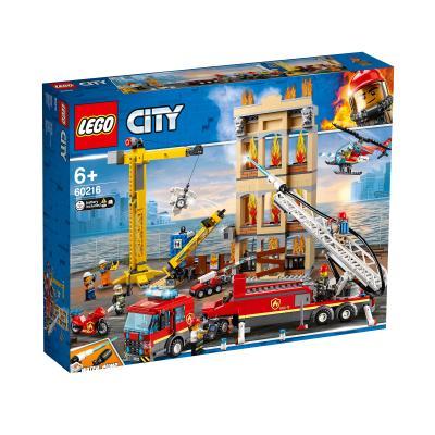 Купить LEGO ЦЕНТРАЛЬНАЯ ПОЖАРНАЯ СТАНЦИЯ, LEGO (60216)
