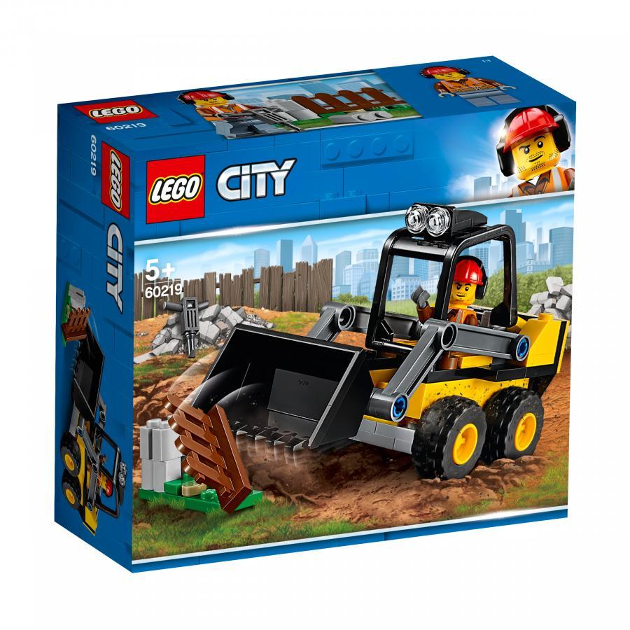 Купить LEGO СТРОИТЕЛЬНЫЙ ПОГРУЗЧИК, LEGO (60219)