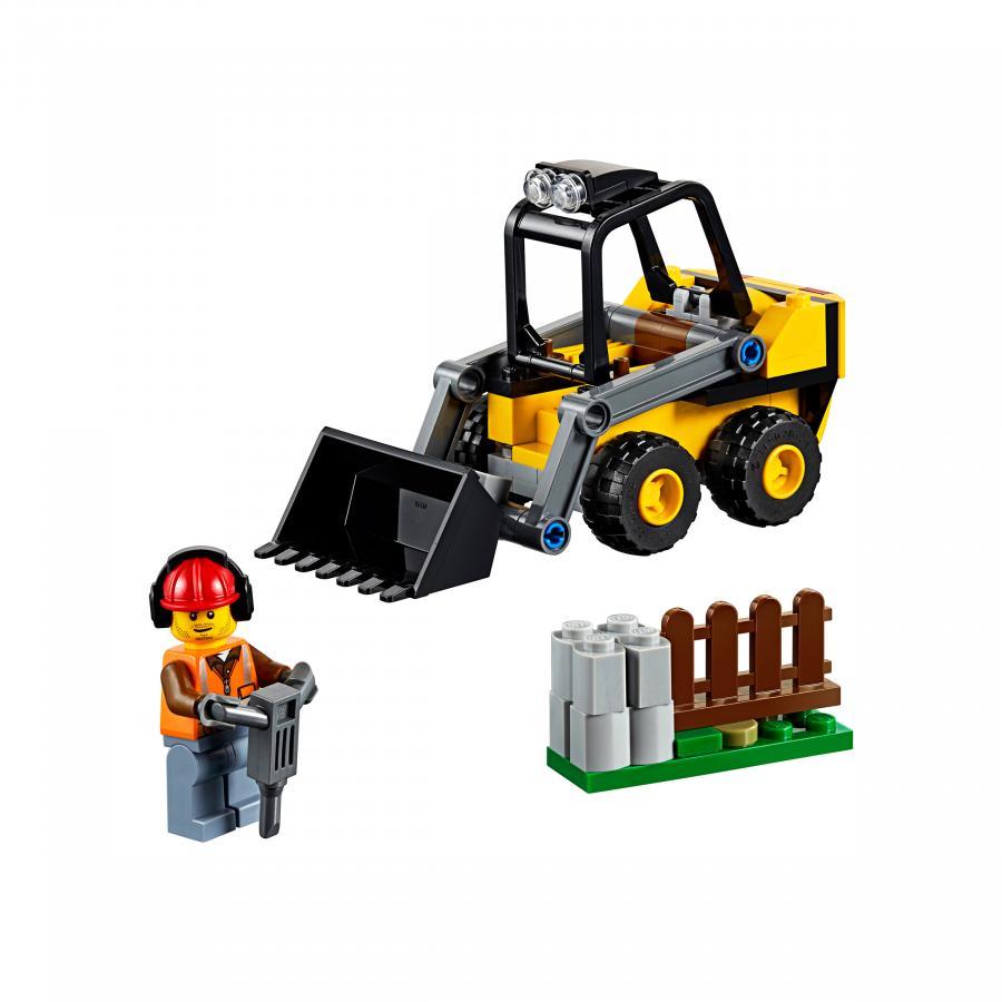 Купить LEGO СТРОИТЕЛЬНЫЙ ПОГРУЗЧИК, LEGO (60219)_1